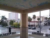 18-Balcony overlooking Wilshire and 6th