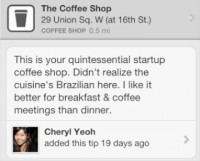 Silicon Alley Tips & Tricks, from Cheryl Yeoh