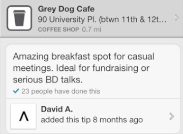 Grey Dog Cafe (11th and University)
