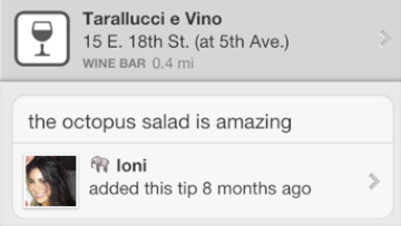 Tarallucci E Vino (18th and Fifth)